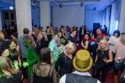 In Potsdam wurde Silvester gefeiert. Ins neue Jahr 2017. Party im Mercure Hotel 17. Etage. Foto: Julian Stähle